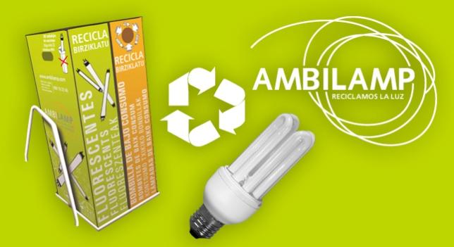 reciclaje de bombillas en Burgos